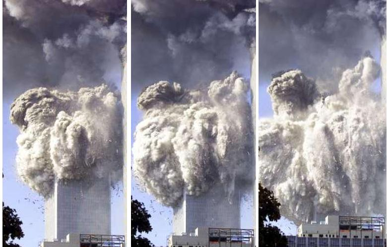 WTC Towers explode